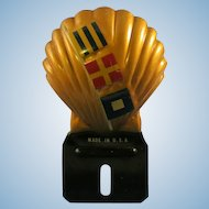 1940's Shell Oil License Topper