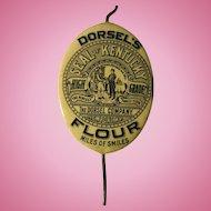 Dorsel's Flour Advertising Bill & Receipt Holder 1908