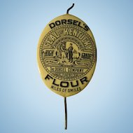 Dorsel's Flour Advertising Bill & Receipt Holder 1908
