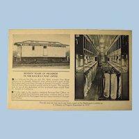 Post Card Postal Car 1934 Chicago World's Fair 1934