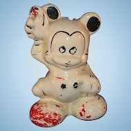 Mickey Mouse Ceramic Bank 1947