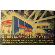 1934 Firestone Factory Building World's Fair