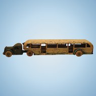 Arcade GMC Grayhound Lines 1933 Century Of Progress Fair Bus
