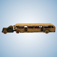 Arcade GMC Grayhound Lines 1933 Century Of Progress Fair Bus