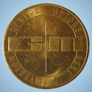 General Motors Motorama of 1954 Token