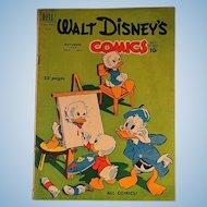 Dell Comics-Walt Disney's Comics-Donald Duck V11 #2 1950