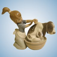 Lladro 5455 Bashful Bather