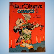 Dell Comic-Walt Disney's Comics-Donald Duck Vol.10 #6 1950