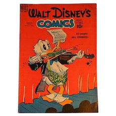 Dell Comic-Walt Disney's Comics-Donald Duck Vol.10 #6 1950