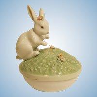 Lladro # 6607 Garden Bunnies Box