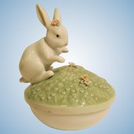 Lladro # 6607 Garden Bunnies Box