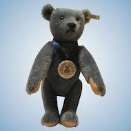 Steiff Club 1994 Teddy Bear Blue 1908 Replica