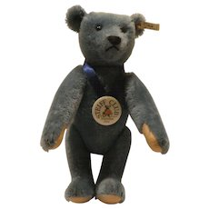 Steiff Club 1994 Teddy Bear Blue 1908 Replica