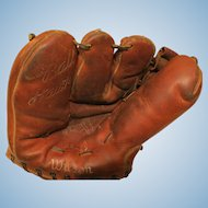Ted Williams 1950's Baseball Glove