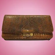Snake Skin Woman's Vintage Wallet