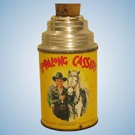 Vintage Hopalong Cassidy Thermos