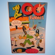 Charlton Comics 1946 #7 Zoo Funnies