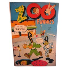 Charlton Comics 1946 #7 Zoo Funnies