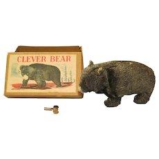 Occupied Japan Clever Bear /w Key