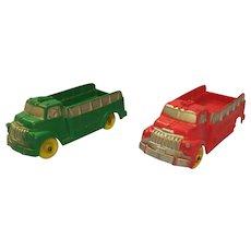 Auburn Rubber Trucks 1940's 50's