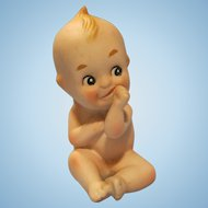 Vintage Bisque Kewpie Winged Doll