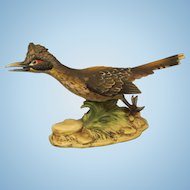 Vintage Bisque Roadrunner by Andrea
