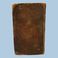 Antique  Book 1792, New Travels in the United States of America