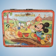 Mickey Mouse Lunch Box made in 1954