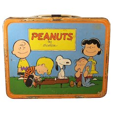 Peanuts Lunch Box made in 1954