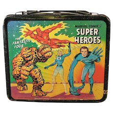 Lunch Box Marvel Super Heroes 1976