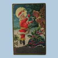 Santa Claus Post Card date 1910