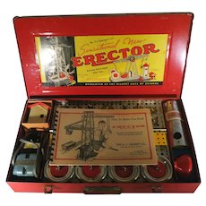 Vintage A.C. Gilbert No. 7 1/2 Erector set ca. 1953