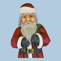 Santa wood hand carved by Bob Davis