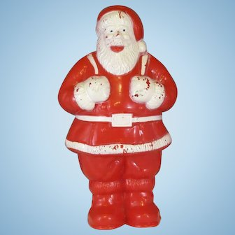 Vintage Santa Claus Candy Holder