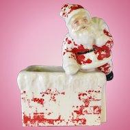 Vintage Santa Claus Planter