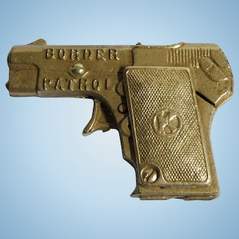 Vintage Kilgore Toy Cap Gun 1935