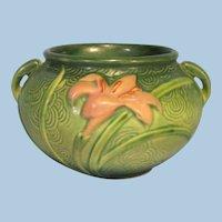 Roseville Pottery Zephyr Lily Jardiniere
