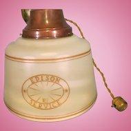 Vintage Edison Service Hanging Light
