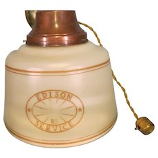 Vintage Edison Service Hanging Light
