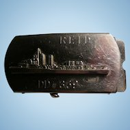 World War 11 Navy USS Reid  DD 369 Belt Buckle and Belt