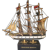 Vintage Charles w. Morgan Wood Ship Bank