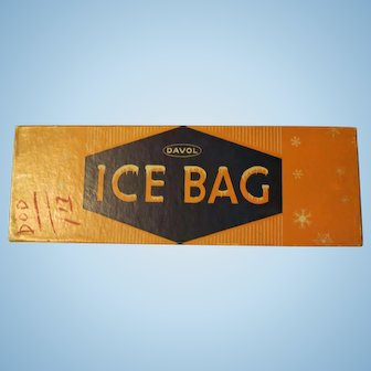 Vintage Ice Bag in original box