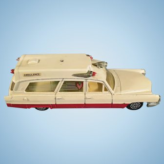 Vintage DinkyToy Superior Rescue Cadillac 1970's