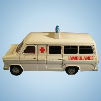 Vintage Ford Transit Van Ambulance by Dinky