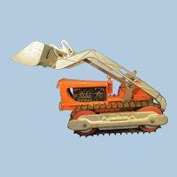 Hubley Cast Toy Bull Dozer 1950's