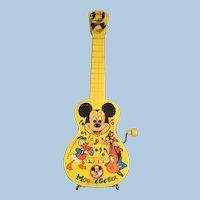 Vintage Mickey Mousegetar 1950's