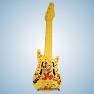 Vintage Mickey Mouse Guitar 1970's