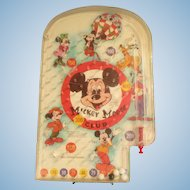Vintage Mickey Mouse Club Bagatelle by Wolverine Toy Company 1970's