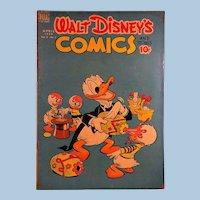 Dell Comic-Walt Disney's Comics- Donald Duck 1949 VOl. 9 #7
