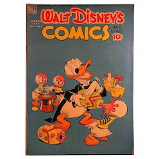 Dell Comic-Walt Disney's Comics- Donald Duck 1949 VOl. 9 #7